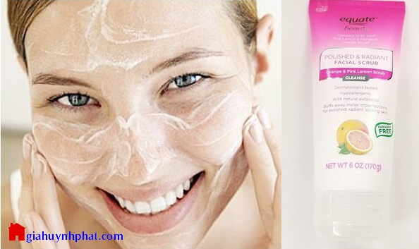 Sữa rửa mặt Equate Beauty Polished & Radiant Facial tẩy tế bào chết giahuynhphat.com