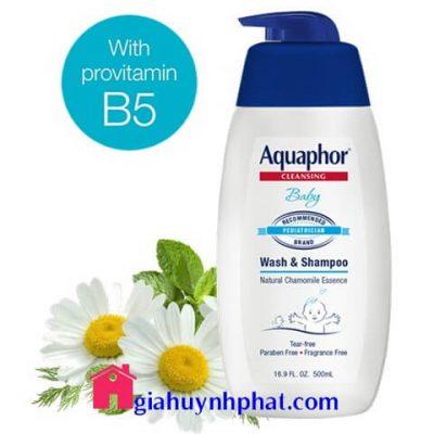 Sữa tắm dầu gội cho bé 2 trong 1 Aquaphor Cleansing Baby của Mỹ giá tốt giahuynhphat.com