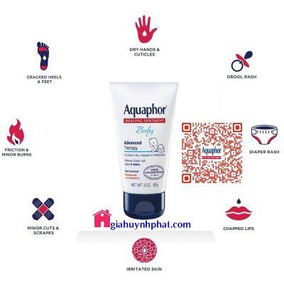 Thuốc mỡ chống trị hăm tã cho bé Aquaphor Baby đa công dụng của mỹ giahuynhphat.com 6