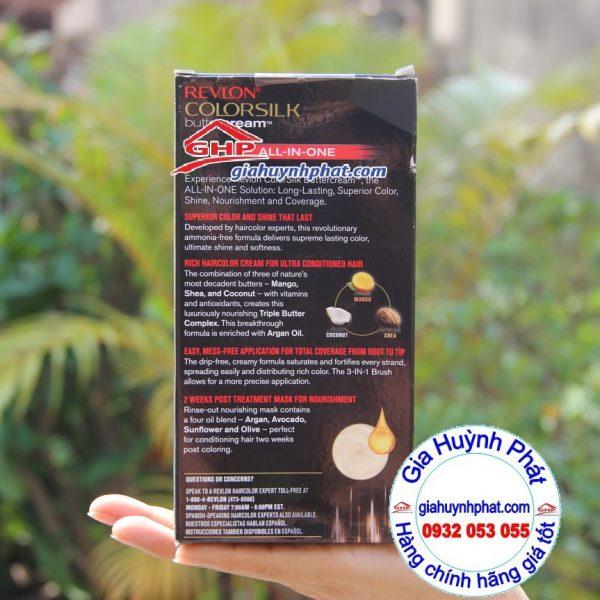 Thuốc nhuộm tóc Revlon #63 hàng mỹ xách tay giahuynhphat.com