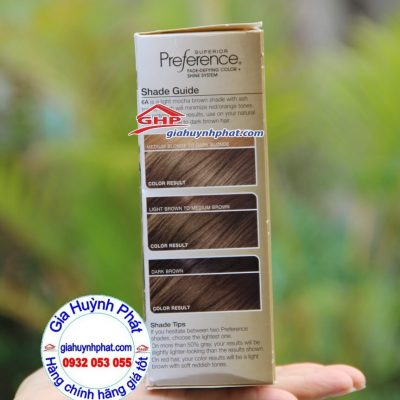 Màu tóc trước và sau khi nhuộm giahuynhphat.com
