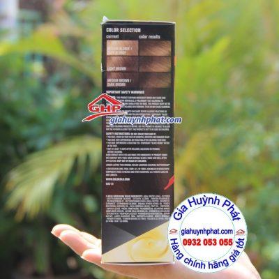 Màu tóc trước và sau khi nhuộm Revlon #63 giahuynhphat.com