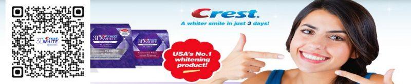 kem đánh răng crest 3D white chính hãng giahuynhphat.com