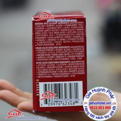 Thuốc nhuộm tóc Revlon màu đỏ tía hàng Mỹ xách tay giahuynhphat.com