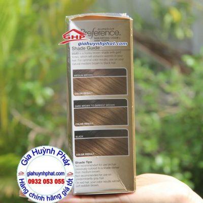 Màu tóc Loreal trước và sau khi nhuộm giahuynhphat.com
