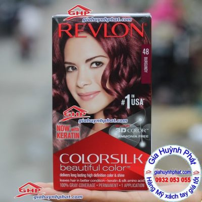 Thuốc nhuộm tóc Revlon #48 hàng Mỹ xách tay giahuynhphat.com
