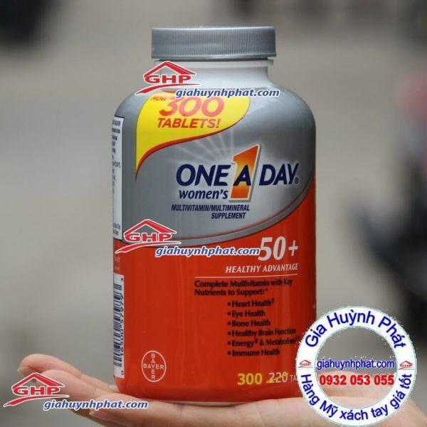 Viên tổng hợp vitamin one a day 50+ giahuynhphat.com