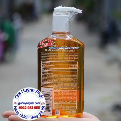 Thành phần sữa rửa mặt kềm dầu trị mụn Neutrogena Oil Free Hàng Xách Tay Từ Mỹ Giahuynhphat.com