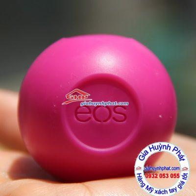 Son trứng dưỡng ẩm môi màu đỏ eos hàng Mỹ xách tay giahuynhphat.com