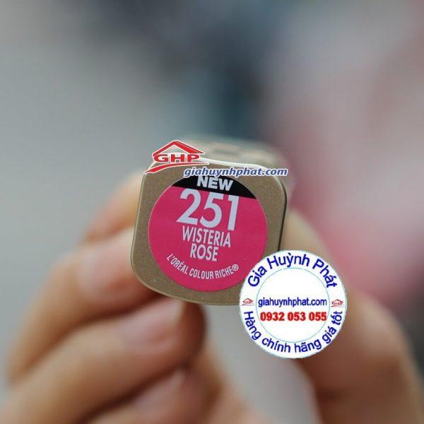 Son màu hồng Wisteria Rose Loreal #251 hàng Mỹ xách tay giahuynhphat.com
