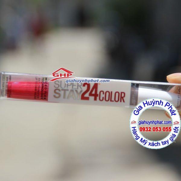 on lì Maybelline màu đỏ cherry #200 hàng xách tay từ Mỹ giahuynhphat.com