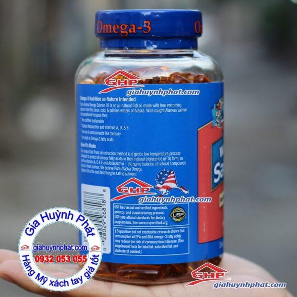 Viên dầu cá Pure alaska omega 3 www.giahuynhphat.com