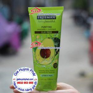 Mặt nạ bơ dưỡng da Freeman hàng Mỹ xách tay giahuynhphat.com