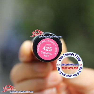 Son môi Revlon #425 softsilver red hàng Mỹ xách tay giahuynhphat.com