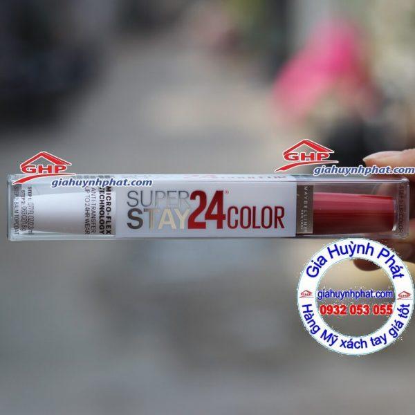 Son môi Maybelline #035 Keep it red hàn Mỹ xách tay giahuynhphat.com