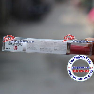 Son Màu Đỏ Maybelline #035 Keep it red hàn Mỹ xách tay giahuynhphat.com
