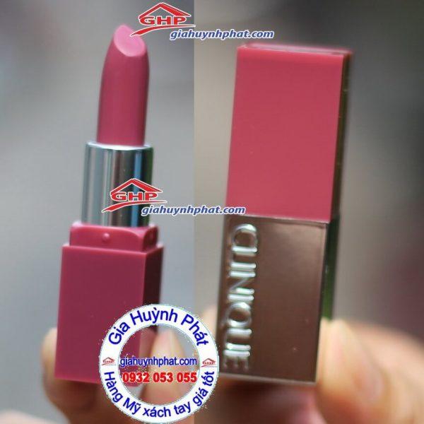 Son môi màu hồng mận #14 Plum pop Clinique