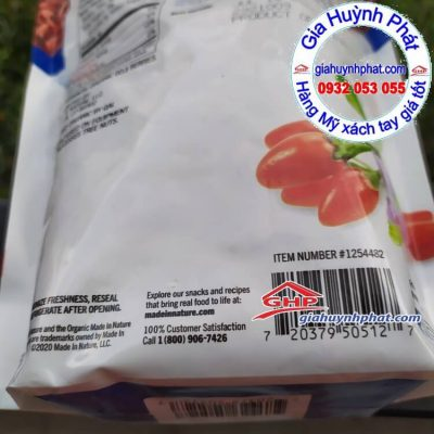 Kỷ tử Made in Nature 567g (Product of China)