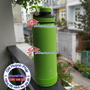 Bình giữ nhiệt Manna màu xanh lá giahuynhphat.com